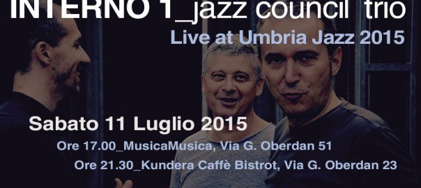 Live interno 1 jazz council pagina 4 for Interno 1 jazz council